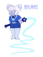 - OC_BUNS - Defective Holly Blue Agate - by PencilTree
