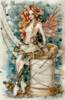 Fairy Couture Find Her Ace of Sword (Speed Drawing by EnysGuerrero