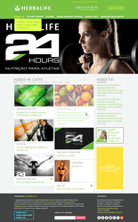 Design concept for site of Herbalife Distributor by vertus-design-being