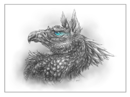 Hippogriff by ShadowCorvus
