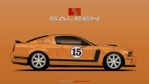 Orange Saleen by YogaBudiwCUSTOM