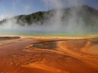 Yellowstone - Grand Prismatic Spring by RenegadePanther