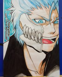 BLEACH: Grimmjow Jaegerjaques by allisonsp11MD