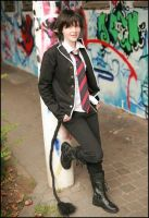Ao no exorcist Rin part 1 by Yoru-Dragon