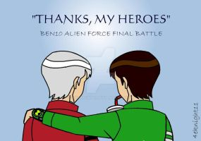 Thanks My Heroes by 4eknight11