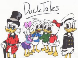 DuckTales 2017 by Piplup88908