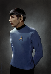 Spock by AmandaTolleson
