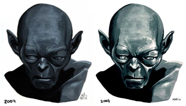 Gollum the return? by TheWoodenKing