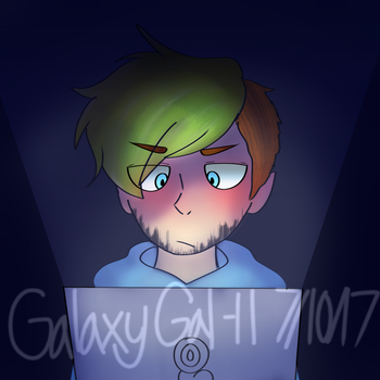 JackSepticEye- Late Night Game(Redraw) by GalaxyGal-11