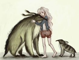 HP Luna and The Beast by Leontopodium