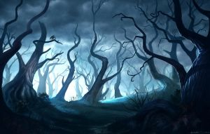 Dead Forest Concept by bmd247