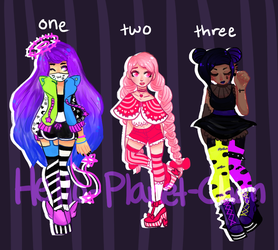 { GIRL ADOPTS } { CLOSED} by hello-planet-chan