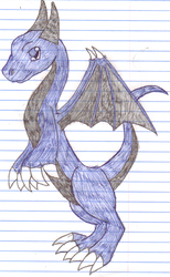 Blue Dragon by SlayersStronghold