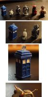 Doctor Who Miniatures by ajldesign