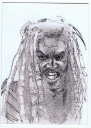 Ezekiel-Sketch-Card by Fusciart