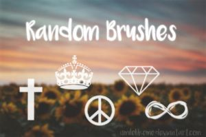 Brushes Random by iSmileLikeMe