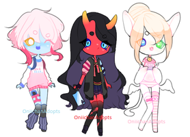 Adoptable Batch #47: OPEN by OniichanAdopts