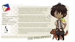 Hetalia: The Philippines by Polar-Angie13