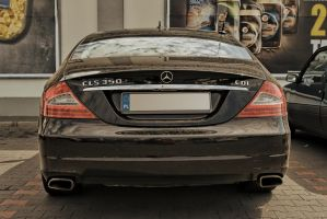 Mercedes-Benz W219 CLS back by Abrimaal