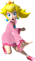 The Pink Mage, AKA Princess Peach by CaitlinTheStarGirl