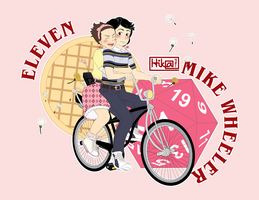 Eleven and Mike by HikaTamika