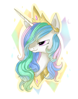 Celestia headshot by nutty-stardragon