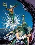 LIID 113: Aquaman/Creature from the Black Lagoon! by johntrumbull