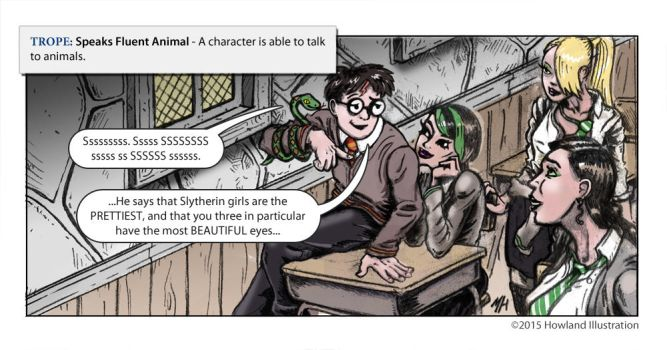 TVTropes - Speaks to Animals by MikeHowland