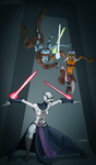 clone wars by mastaczajnik