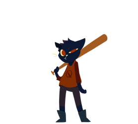 Night In The Woods - Mae by Mararia0w0