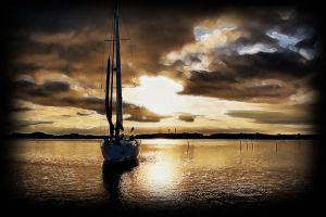 Sailing for Forgiveness by Geronty