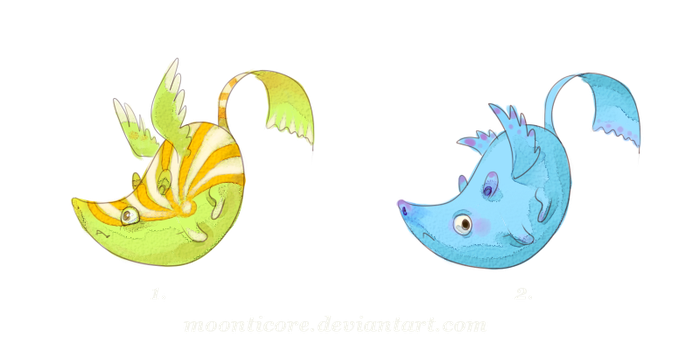 Point adoptables - CLOSED. by Moonticore