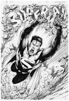 Commission Superman - Marcio Abreu by MARCIOABREU7