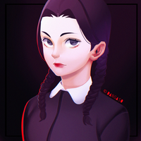 Wednesday Addams by Dangaso