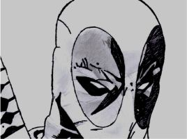 Serious face Deadpool by ShadowHunter1138