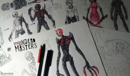 Undead Creatures WIP by DemiseMAN
