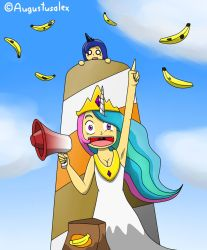 Bananas On The Moon! by Augustusalex