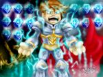 artix the paladin  battle gems style by gossj10
