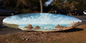 Surfboard #3 / Australian Coastline by PieterSneep