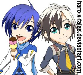 CrossOver -KAITO and Ludger- by haro-x-tales