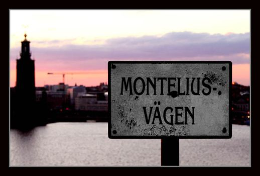 The road of Montelius by Wavecut