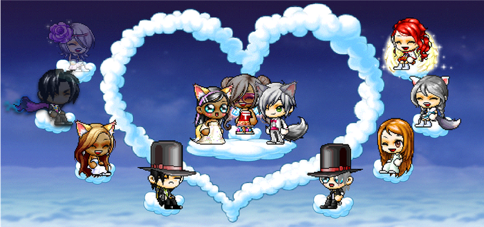 MapleStory - Wedding of Silvergear and Tam by Ask-TamTheCreator