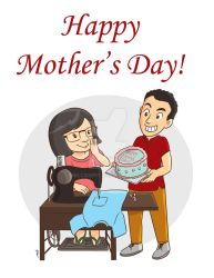 Mother's day by melcasipit