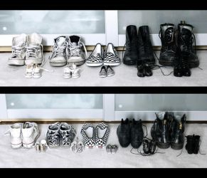 collecting shoes is a form of art by so-fiii