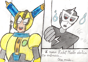 (TRAD COMIC) Fuse Man and a Envious Unhearted by Thunderblade2001