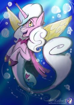 Mary Sue As A Seapony UK PONYCON 2017 Exclusive by Mad--Munchkin