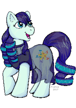 Coloratura - Pixel version by fishiewishes