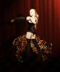 Pin up and jaguar lol by Ymadea
