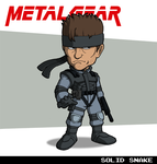 Solid Snake (Metal Gear) by fryguy64