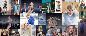 Taylor Swift Collage by TomIannucci